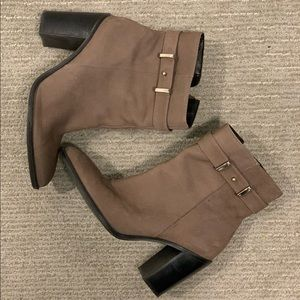 Shoes - Leather Ankle Boots